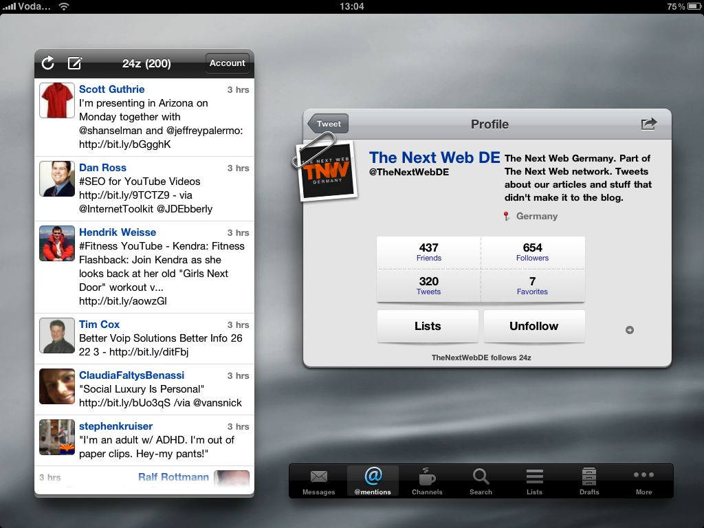 IMG 0004 The best iPad Twitter app for now: Twittelator for iPad