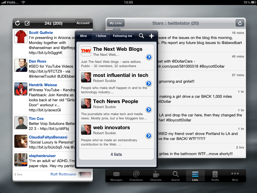 IMG 0007 The best iPad Twitter app for now: Twittelator for iPad
