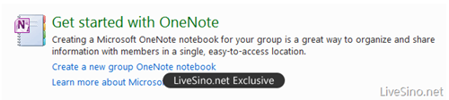 OneNote thumb Windows Live Groups: Online Collaboration Finally Makes Sense