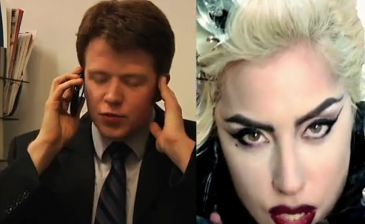 The guy on the other end of Lady Gaga's Telephone
