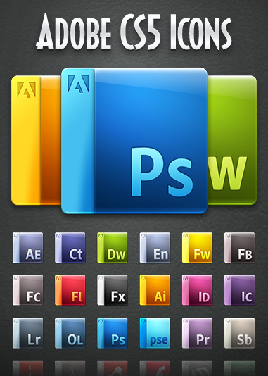 Picture 361 Gorgeous Adobe CS5 Icons