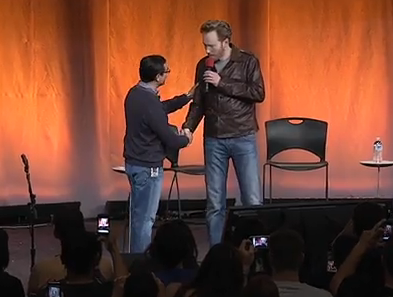 Conan O'Brien at Google. Hilarious. Honestly. Hilarious.