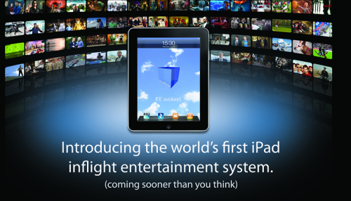 Picture 537 500x286 Worlds First iPad In Flight Entertainment System is Announced