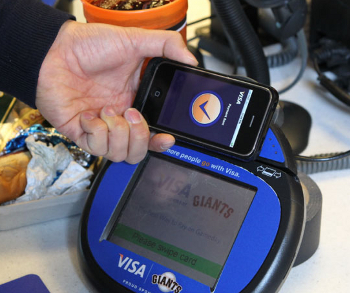 Visa tries to take on Square with iPhone payment system