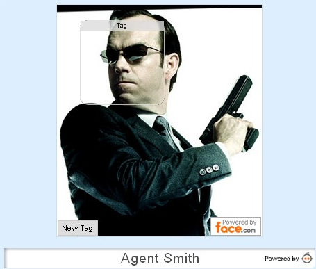 agent smith Face recognition across the web   Face.com gets an API