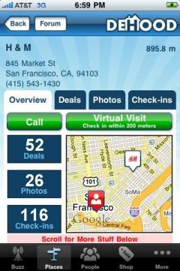 dehood 2 260x390 DeHood iPhone app: you might not live in DeHood, but you should shop there
