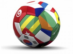 football resized 300x225 Riding the World Cup Fever Wave