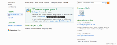 groups thumb Windows Live Groups: Online Collaboration Finally Makes Sense