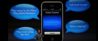 How the iPhone's voice control works in theory