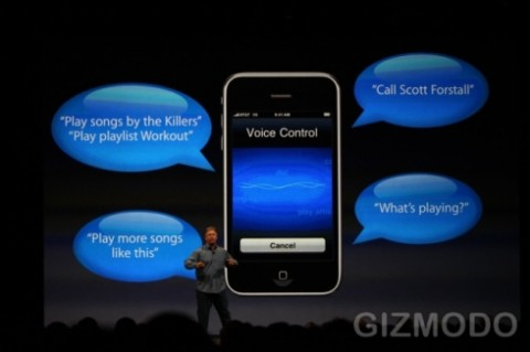 iphone voice control in theory e1275335204692 Androids Froyo vs. iPhone OS4.0. Fight!