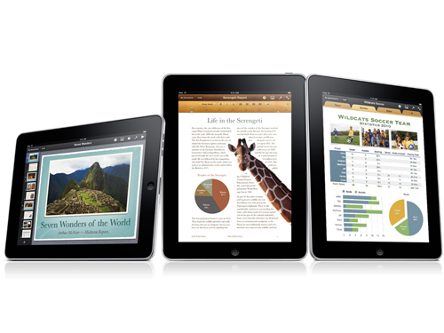 iWork for iPad Updated