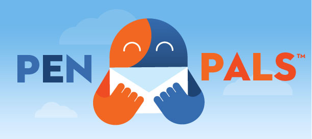 logo Pen Pals for the iPhone.  Its like Chat Roulette, but with less sausage.
