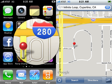 Apple submits patent for native iPhone location feature
