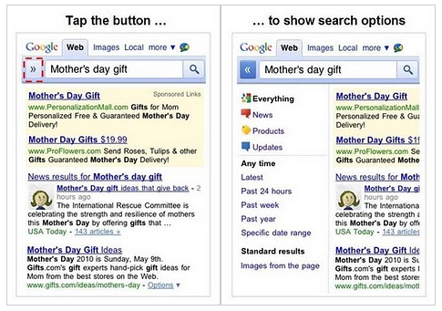 mobile search real The New Google Mobile Is Slick, Fast