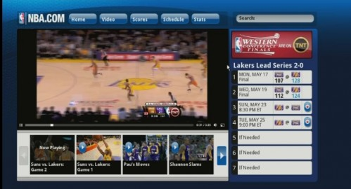 nba 499x270 Google TV Is Real: All You Need To Know