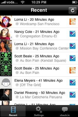 Geolorean: The Check-In Aggregator for the iPhone