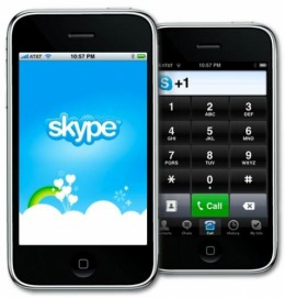 skype 260x271 Skype for iPhone Finally Allows 3G Calls, Free For A Limited Time