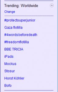 Gaza Trending