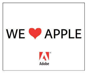 Adobe Takes Aim At Apple With New Ad Campaign