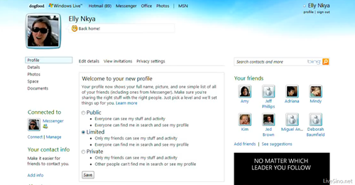 windows live profile privacy thumb Windows Live Wave 4: Privacy Controls Done Right