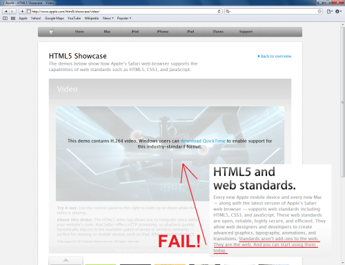 2TSAr 500x384 Web Standards Fail