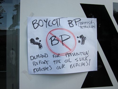 [Updated] 800,000 Strong Boycott BP Facebook Fan Page Mysteriously Vanishes