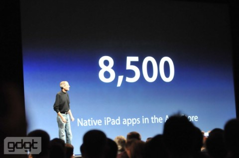8500 iPad apps e1275937250949 Everything announced at WWDC in one handy list