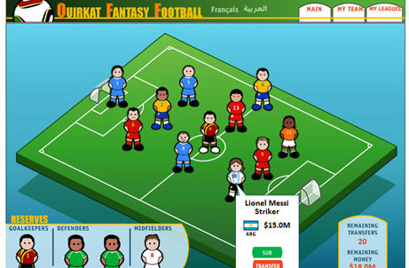 Fantasy Football Screenshot
