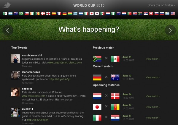 9980 world cup aggregation 600x423 Twitter blowing its own vuvuzela