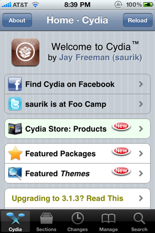 CydiaoniPhone4 iPhone 4 Gets The Spirit Jailbreak Treatment