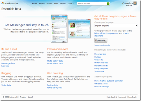 Microsoft takes aim at iLife with Windows Live Essentials
