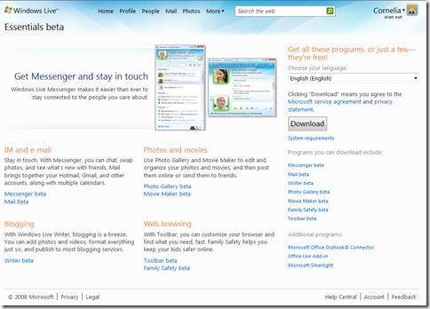 Microsoft takes aim at ilife with windows live essentials.