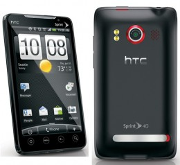 HTC EVO 3 260x238 HTC Evo 4G Gets Android 2.2 OTA Update