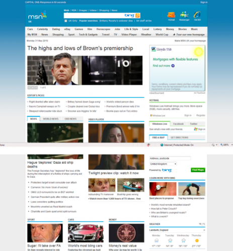 Screen shot 2010 06 01 at 19.01.09 463x500 Portals Arent Dead: MSN UK Turns 15, Relaunches