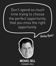 The Perfect Opportunity VS The Right Opportunity