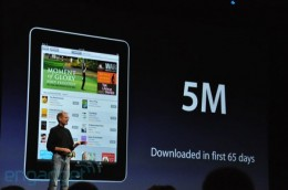 apple wwdc 2010 092 rm eng 260x172 Steve Jobs on iPad iBooks: 5 Million eBooks Downloaded in 65 Days, Now Reads PDFs