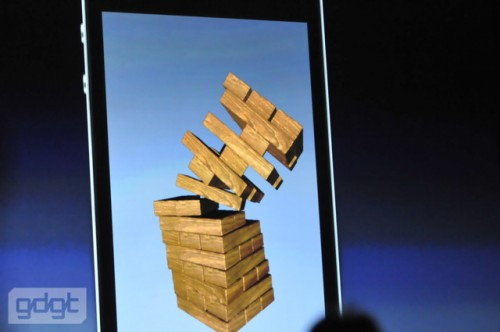 apple wwdc10 541 500x332 iPhone 4 Has A Gyroscope   Gaming On The iPhone Just Got Super Three Dimensional