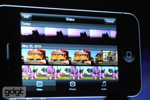 apple wwdc10 583 500x332 5MP Camera and HD Video comes to the iPhone