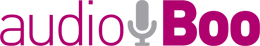 audioboo logo Audioboo launches social voicemail, with help from Stephen Fry