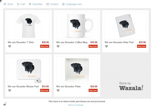 doodle39 500x349 Vendr (now Wazala) turns your existing site into your own web store. [Beta Codes]