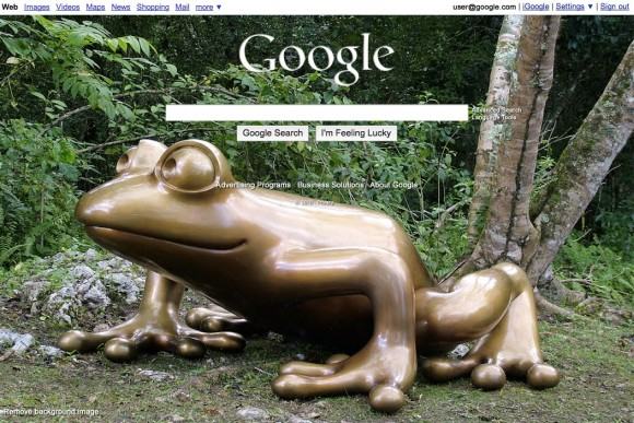 example Google Launches Homepage Customization With Your Pictures