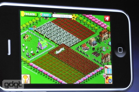 farmville iPhone e1275937426151 Everything announced at WWDC in one handy list
