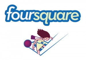 foursquare 300x211 Foursquare abandons plans to sell, takes $20 million in funding.