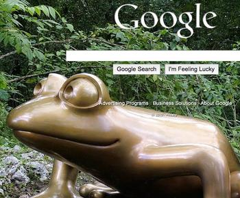 google icon Google Launches Homepage Customization With Your Pictures