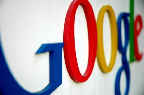 googlelogoonwall thumb 500x333 Heres how Google could take on Facebook.