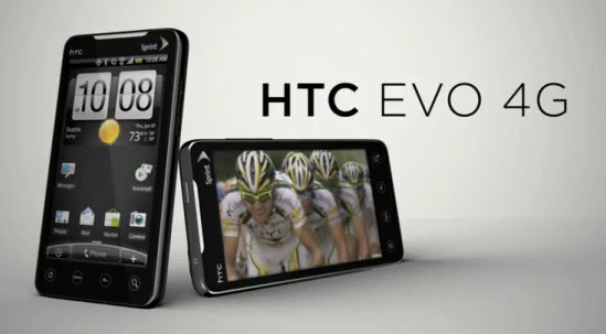 HTC EVO Apparently Sold Out Already