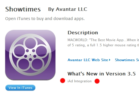 iAd iPhone Apps With iAd Integration Appear In The App Store