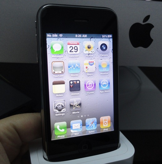 [Video] iMovie running on the iPhone 3GS…for now