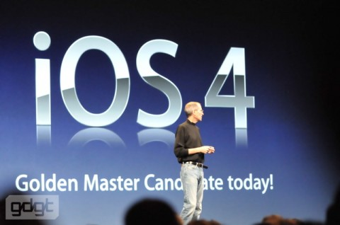 iOS4 golden master e1275939730168 Everything announced at WWDC in one handy list