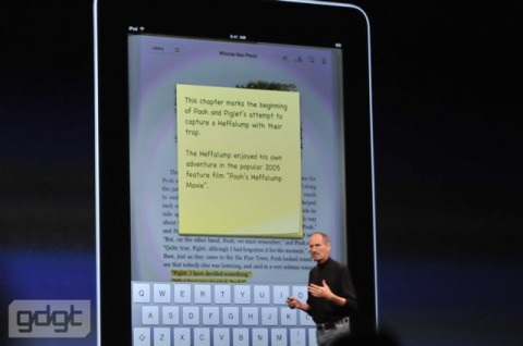 iPad Books notes e1275937350834 Everything announced at WWDC in one handy list